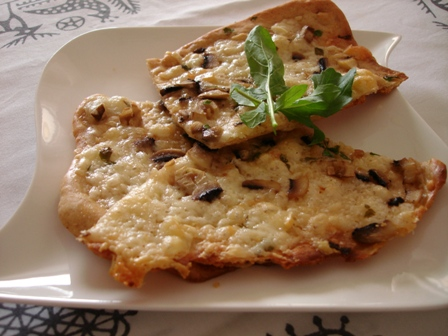 how to make crispy thin crust dough