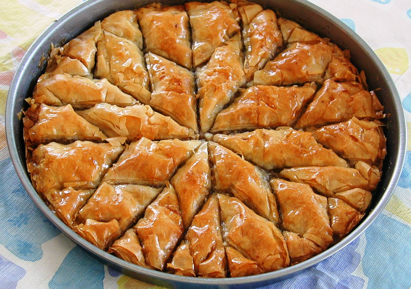 Aegeaneating baklava for Albanian cuisine
