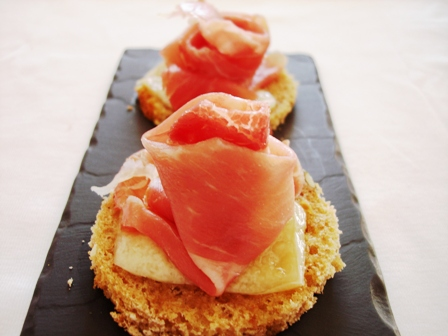 Aegeaneating canapes for Prosciutto canape